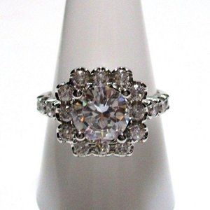Ring Size 9 Simulated Diamond 435